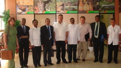 Cuban/ Sri Lankan Coconut Summit