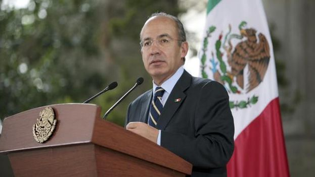 "Felipe Calderón was described as an ""inadmissible traveler"" in Cuba this Tuesday."