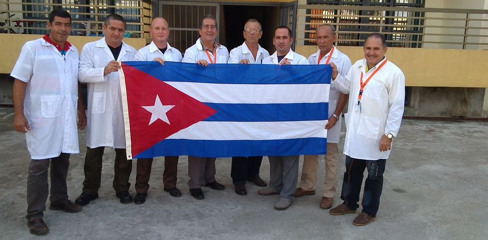 Cuban doctors said they are forced to lie about their salary.