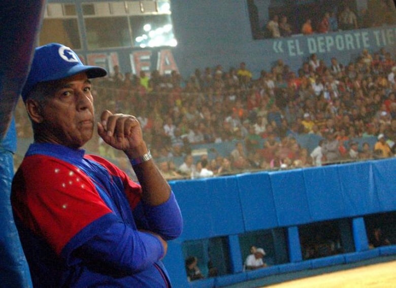 arlos Martí, manager of Team Cuba at the World Baseball Classic.