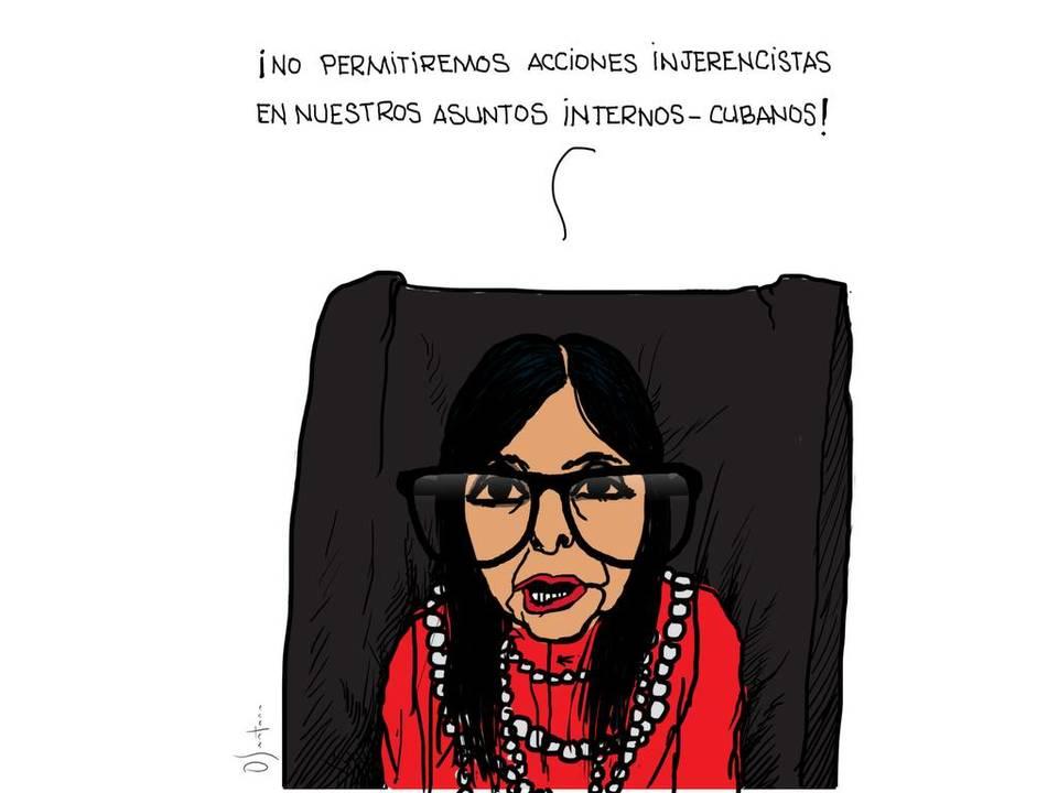 cubas affairs in venezuela delcy santana enh